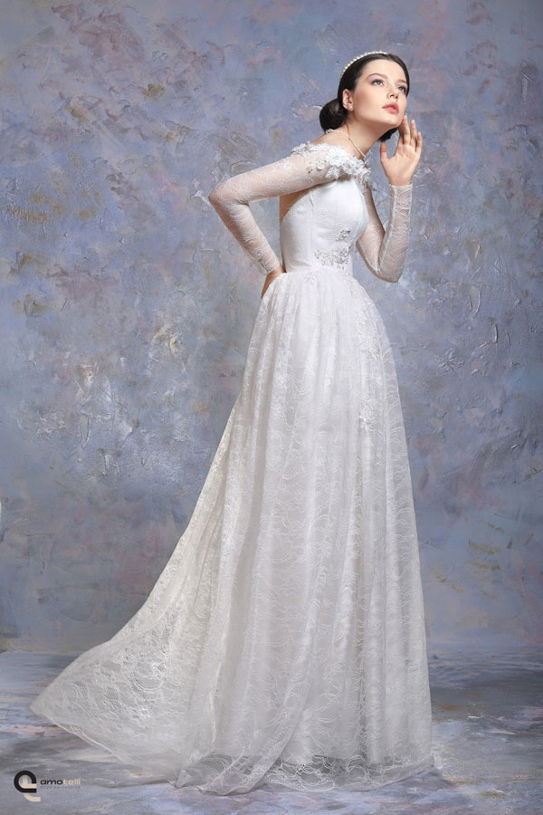 Свадебное платье Каптейна